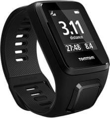 "TomTom Spark 3 Cardio + Music GPS, black, ""L"""