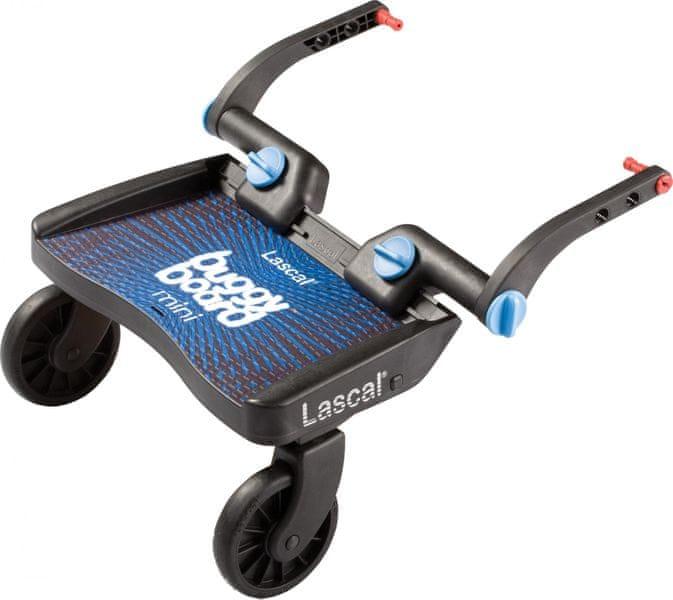 Lascal Buggy board MINI - závěsné stupátko, Modrý