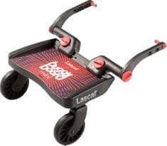 Lascal stopnica za otroški voziček Buggy board MINI, rdeča