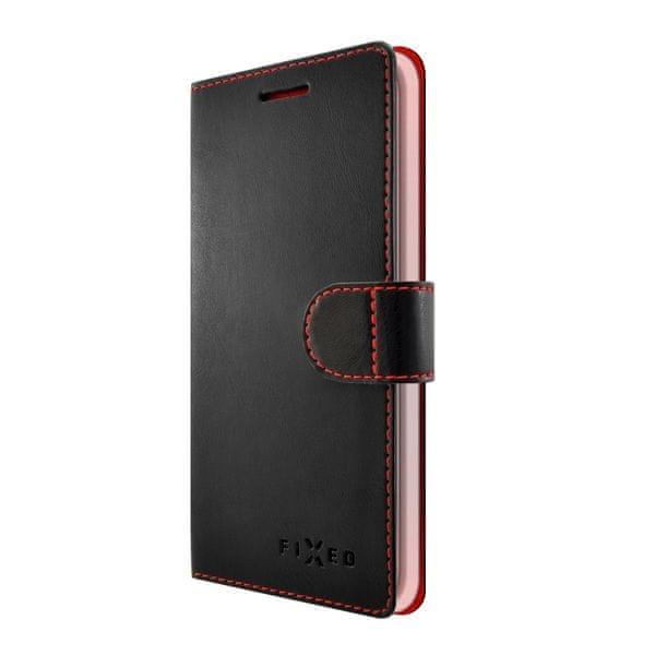 Fixed flipové pouzdro FIT, Lenovo Vibe S1 Lite, černé