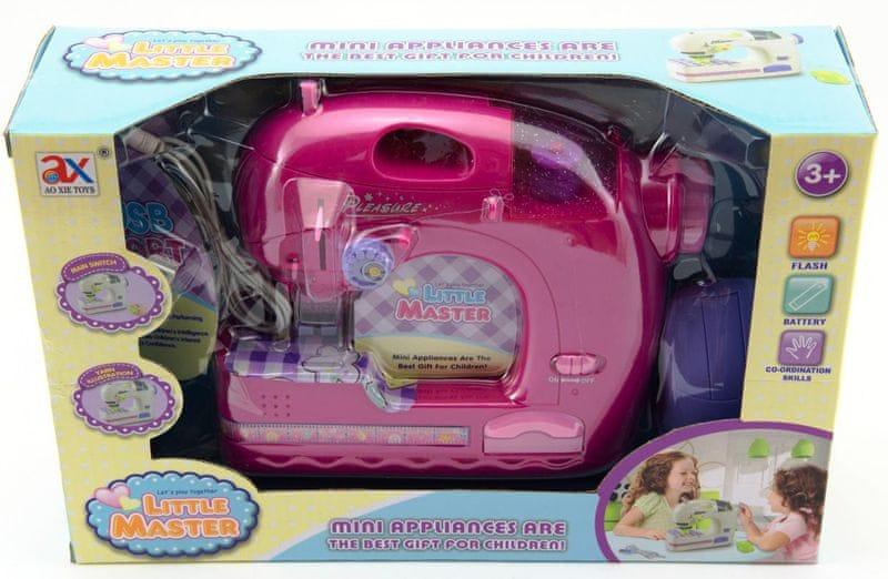 Teddies Stroj šicí dětský USB port
