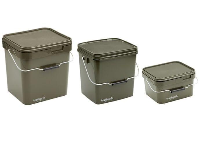 Trakker Plastový box Olive Square Container 17 Litrů