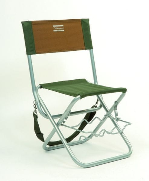Shakespeare Stolička - Folding Chair with Rod Rest