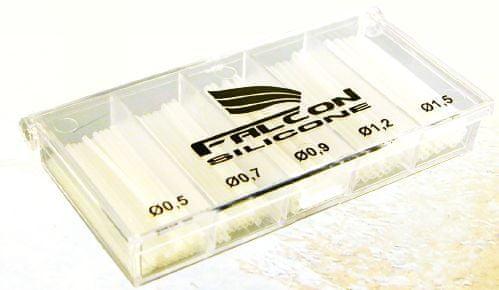 Falcon profi sada silikon bužírek - mix 5 velikostí ( 0,5/ 0,7/ 0,9/ 1,2/ 1,5mm )