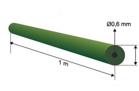 Extra Carp Tungsten Tube Carp 1m