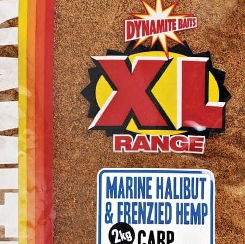 Dynamite Baits groundbait marine halibut & frenzied hemp 2 kg