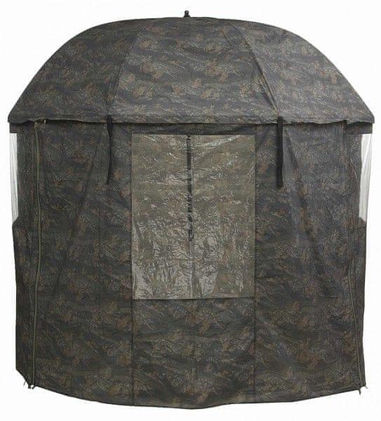 MIVARDI Kompletně zakrytý deštník PVC - Camou - 2,5m