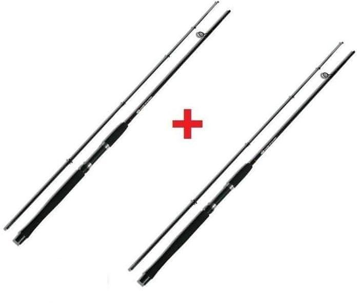 Ngt Prut Carp Stalker Rod black 2,4 m (8 ft) 2 lb + druhý zdarma