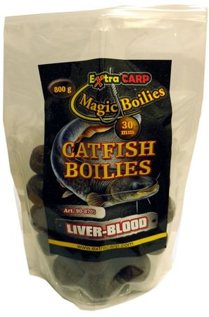 Extra Carp boilie Cat Fish Liver Blood 800 g 30 mm