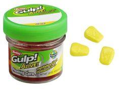 Berkley - Umělé nástrahy  Kukuřice plovoucí žlutá Gulp! Alive 50ks