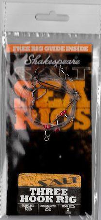 Shakespeare Návazec Three Hook Rig