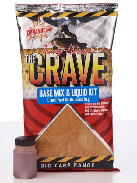 Dynamite Baits crave base mix & liquid kit 1 kg