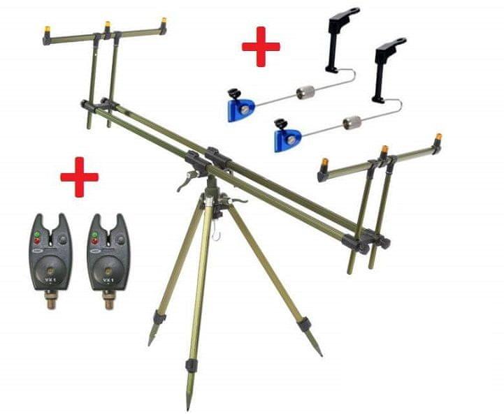 ZFISH Tripod Select 3 Rods + 2x Hlásič NGT VX1 + 2x Swinger Extra Carp ZDARMA!