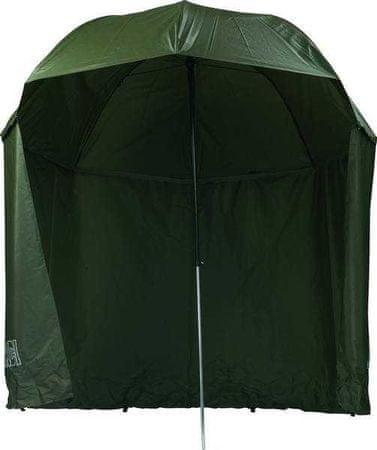 MIVARDI Rybářský deštník Green PVC s bočnicemi