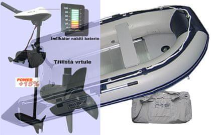 Zico - Akční set - Rybářský člun BL360 + el. motor Turbo LX50