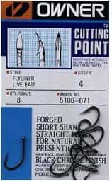 Owner háček  s očkem 1, 7 + cutting point  5106