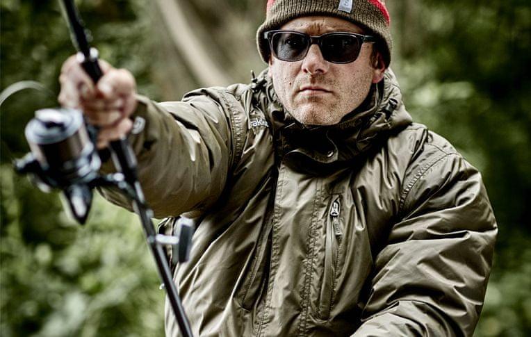 Trakker Vodělodolná zimní bunda Elements Jacket Zelená L