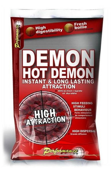Starbaits Boilies Hot Demon 1 kg, 10 mm