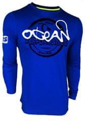 Hotspot Design Tričko Ocean Performance (modré, dlouhý rukáv)