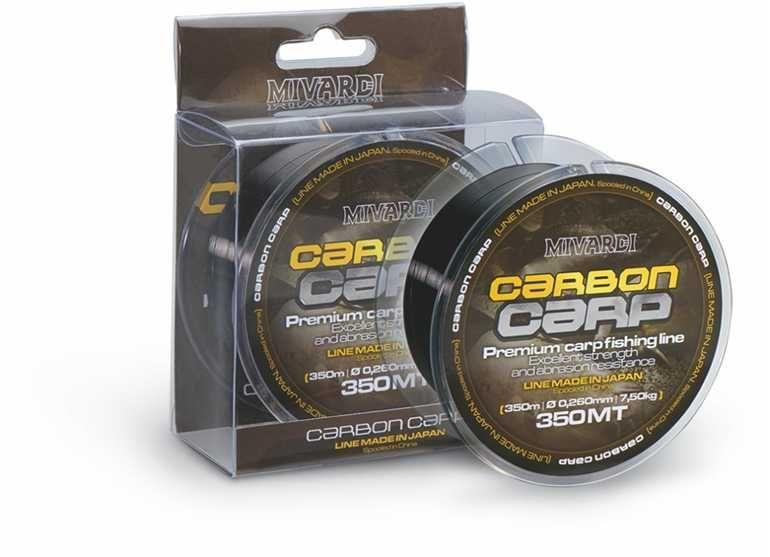 MIVARDI Vlasec Carbon Carp 600 m 0,23 mm, 6,3 kg