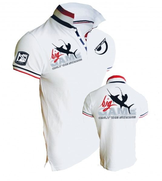 Hotspot Design Tričko Polo Big Game - Only The Strong M