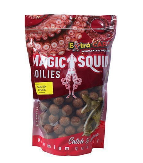 Extra Carp boilie Magic Squid 1 kg 24 mm plum