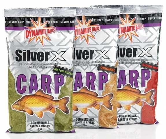 Dynamite Baits silver x carp groundbaits 2 kg carp