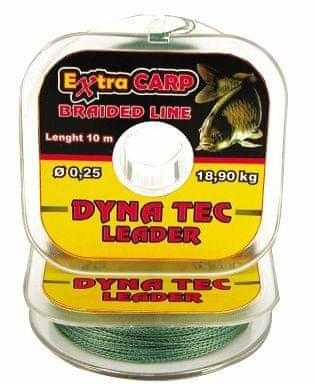 Extra Carp - Dyna Tec návazcová šňůra 10 m 18,9 kg, 0,25 mm