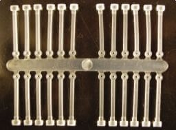 Extra Carp silicone boilie holder čirá 30 mm