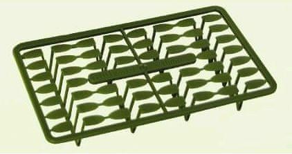 Extra Carp zarážky pellet holder Zelená 13 mm
