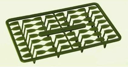 Extra Carp zarážky pellet holder Zelená 21 mm