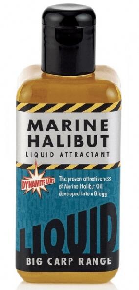 Dynamite Baits liquid attracant 250 ml marine halibut