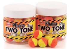 Dynamite Baits Pop-Ups  Fluro Two Tone Tutti-Frutti & Pineapple