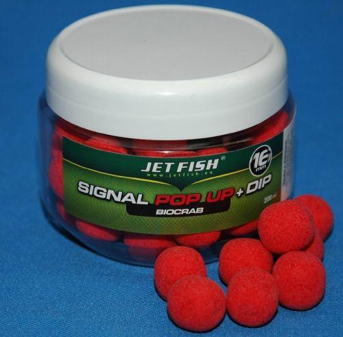 Jet Fish pop up signal 16 mm 200 ml Mušle