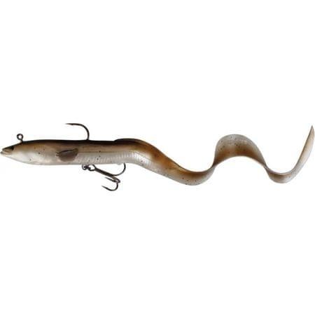 Savage Gear Gumová nástraha Real Eel 30 cm 80 g Olive Pearl 1ks