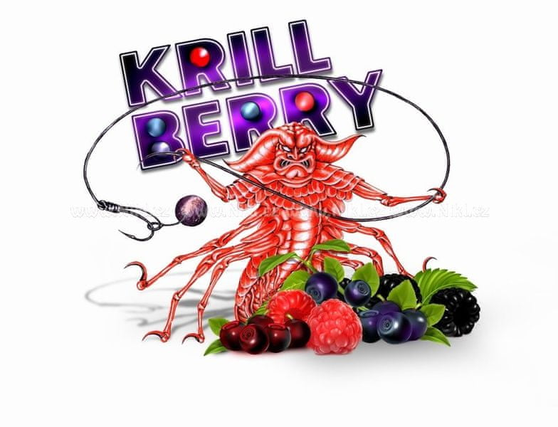 Nikl pelety KrillBerry 3 kg, 10 mm