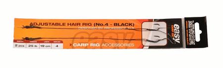 MIVARDI návazec adjustable hair rig easy 2 kusy 25 lb 4