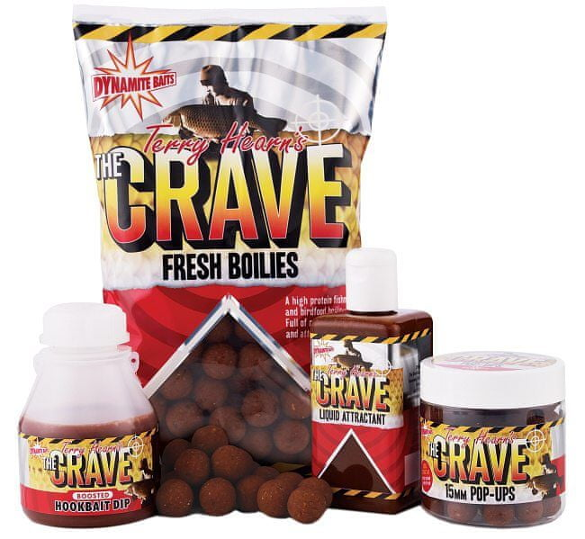 Dynamite Baits Boilies The Crave S/L 1 kg, 15 mm