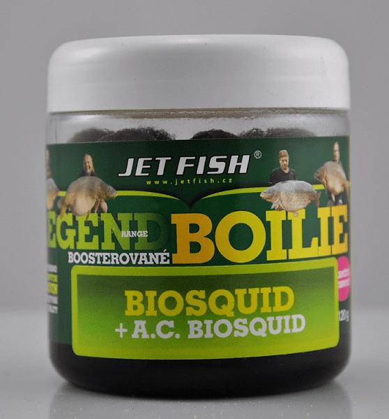 Jet Fish boosterované boilie 120 g 20 mm mušle