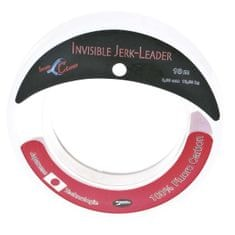 Iron Claw Vlasec   Invisible Jerk Leader 10 m crystal