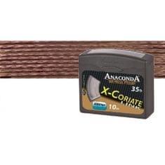 Anaconda návazcová šňůra X-Coriate Link 10 m Brown