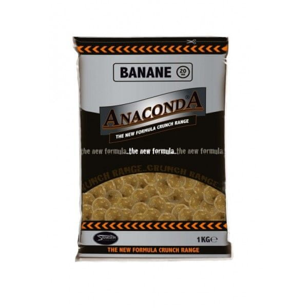 Anaconda boilies Crunch new formula 1 kg 16 mm jahodový krém