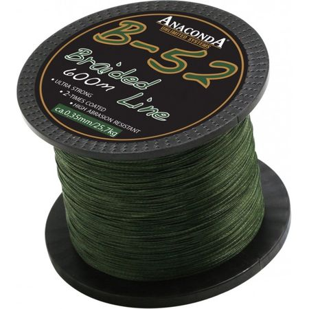 Anaconda šnúra B-52 Braided Line 600m 0,22 mm, 12,6kg
