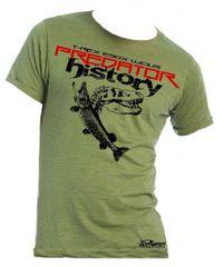 Hotspot Design Tričko Predator History