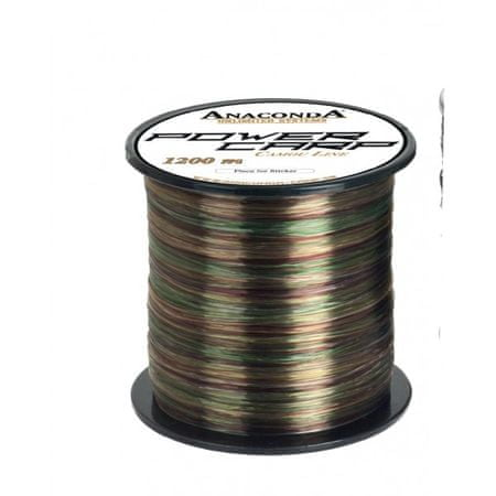 Anaconda Vlasec Power carp Camo 1200 m 0,32 mm, 9,25 kg