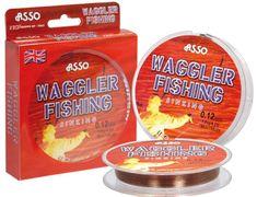 Asso Vlasec Waggler Fishing Hnědá 150m