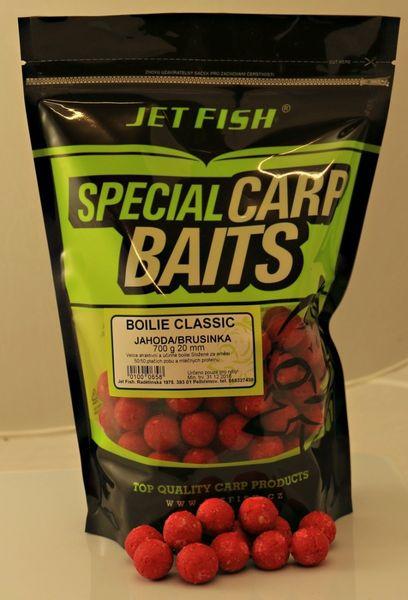 Jet Fish boilie Classic 700 g 20 mm oliheň/mušle