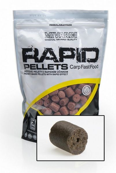 MIVARDI pelety Rapid Extreme 1kg 4mm spiced protein