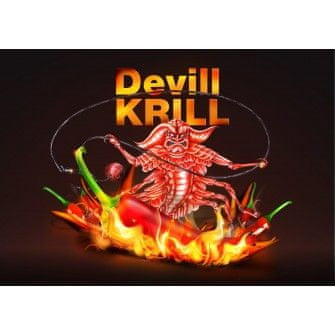 Nikl Boilies Devill Krill Cold Water Edition 250 g, 18 mm
