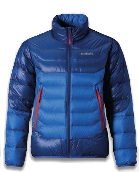 Shimano Bunda 700FP Down Jacket Blue L